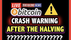 BITCOIN CRASH WARNING!! Halving Hype DONE?!💥 LIVE Crypto Analysis TA & BTC Cryptocurrency Price News