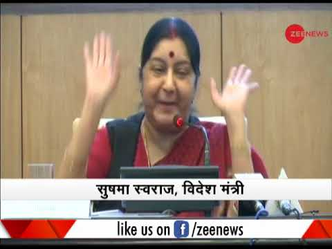 Morning Breaking: External Affairs Minister Sushma Swaraj Launches Passport Seva App