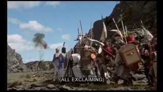 "clip 12 (part 1) ""Greetings, Tim the enchanter!"" -Monty Python and the Holy Grail (1975)"