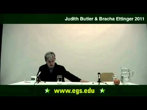 Judith Butler with Bracha Ettinger. Ethics on a Global Scale. 2011