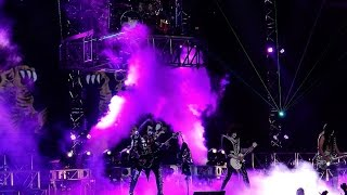 kiss en uruguay 2015 ending i was made for loving you rock and roll all night fullhd