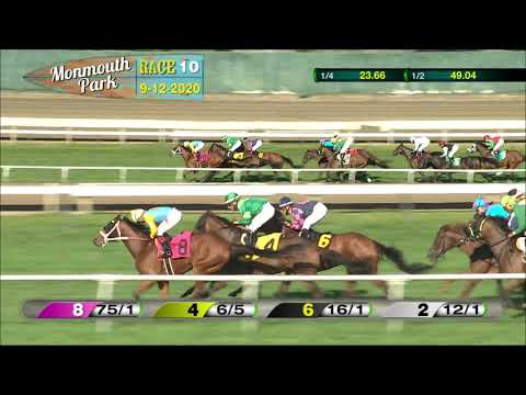 video thumbnail for MONMOUTH PARK 09-12-20 RACE 10
