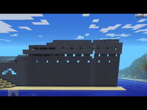 Minecraft Lets Build Titanic