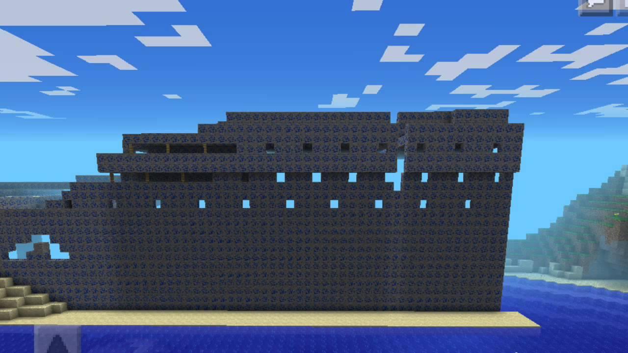 Minecraft How To Build The Titanic