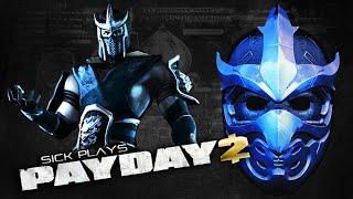 PAYDAY 2 Sub-Zero / Shredder Mask - Slicer Mask