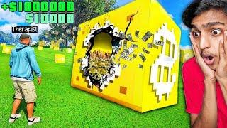 GTA 5 : $1 vs $1,000,000 LUCKY BLOCKS !! MALAYALAM
