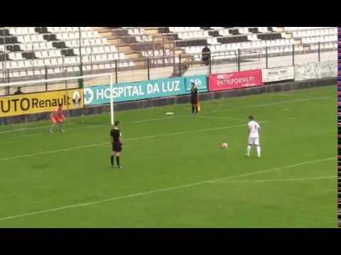 Penalti Fernando Madureira (Macaco) - Canelas 2010 vs Paredes USC