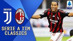 Ronaldinho, Pirlo, Nedved & Del Piero | Juventus v Milan (2008) | Serie A TIM Classics | Serie A TIM