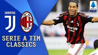 Ronaldinho, Pirlo, Nedved & Del Piero   Juventus V Milan (2008)   Serie A TIM Classics   Serie A TIM