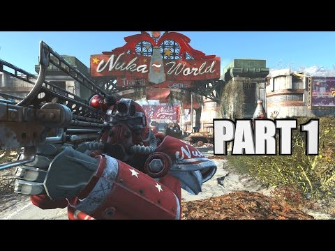Fallout 4 Nuka World [DLC] PC Gameplay Walkthrough Part 1 Entrance & The Gauntlet