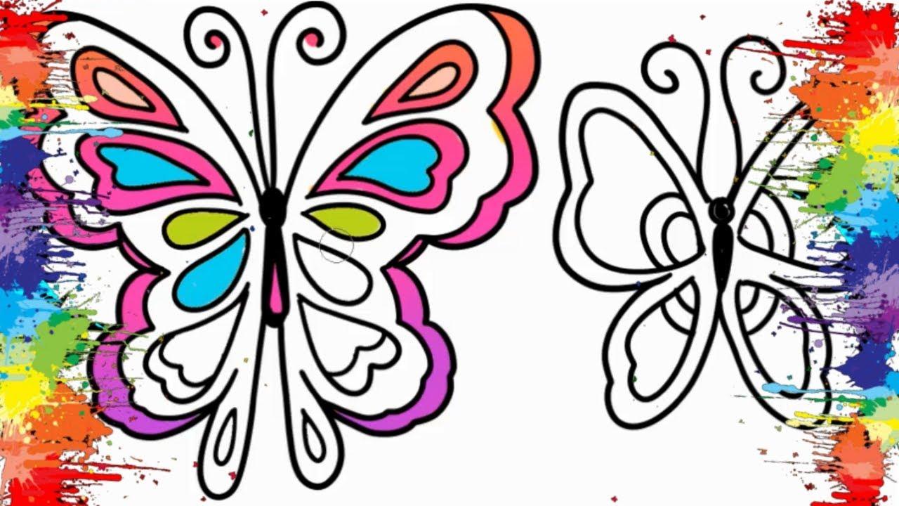 Desenhos Para Colorir De Borboletas Colorindo Lindas Borboletas