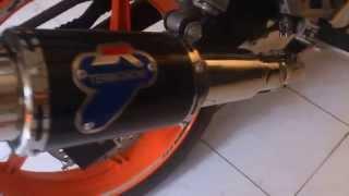 Honda CBR150R REPSOL Indonesia Termignoni exhaust