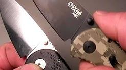 SOG Aegis knife Update by Nutnfancy