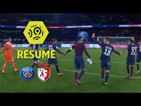Paris SaintGermain  LOSC 31   Résumé  PARIS  LOSC  201718