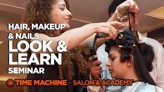 Look and learn seminar| Hair, Makeup and beauty|