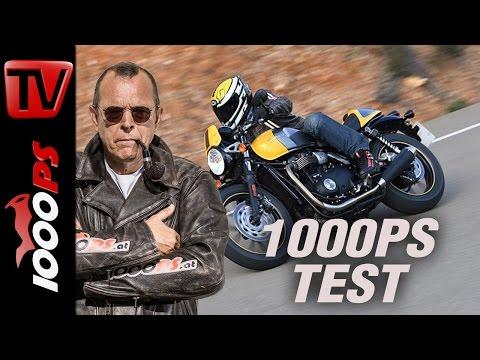 1000PS Test | Triumph Street Cup vs. Street Scrambler 2017 | Brandheisse Twins