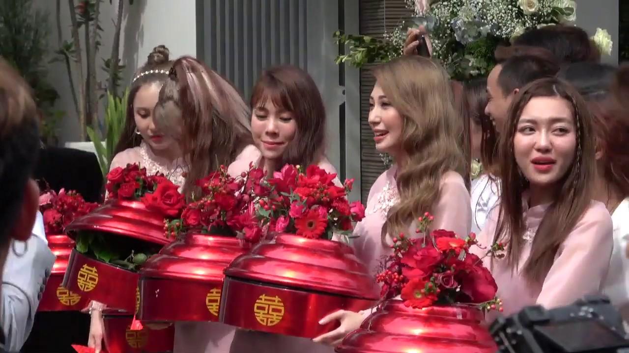 Đám cưới Đông Nhi - Ông Cao Thắng: Khổng Tú Quỳnh cùng Uni5 tươi roi rói tiễn Đông Nhi về nhà chồng