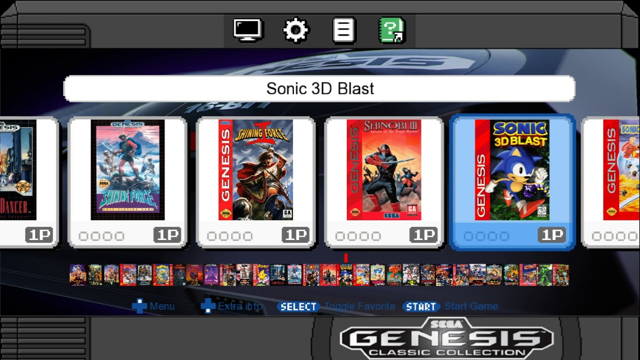 Sega Mega Drive / Genesis Mini Games List Thoughts & Opinions