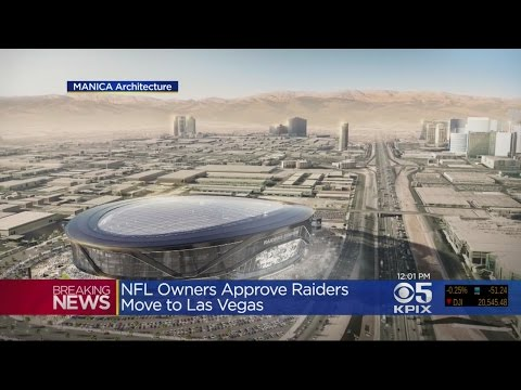 NFL Owners Approve Moving Raiders To Las Vegas