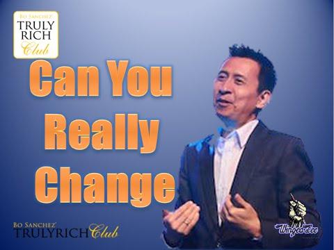 Bo Sanchez TRC - Can You Really Change? (PowerTalk)