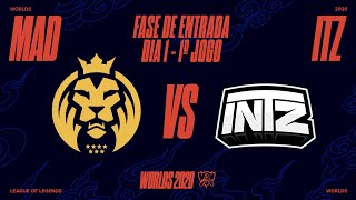 Mundial 2020: Fase de Entrada - Dia 1 | MAD Lions x INTZ (1º Jogo)