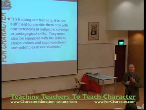 Educating For Character II (Dr Gary Smit) Pt.2 - Character Education Seminar in Singapore