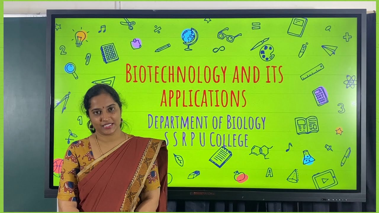 II PUC |BIOLOGY | BIOTECHNOLOGY AND ITS APPLICATIONS - 01