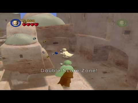 Older versions of characters found in demo files of Lego Star Wars 2