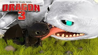 Como Treinar Seu Dragão 3 - FÚRIA DA NOITE BRANCA, Bebês Do Banguela! | How to Train Your Dragon 3