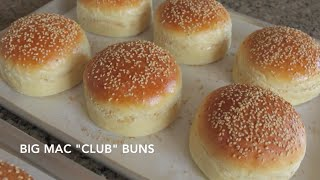 "Homemade Hamburger Buns - Classic & Big Mac ""Club"" 