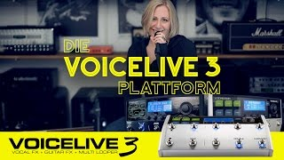 Die VoiceLive 3 Plattform: VL3 und VL3X (German version)