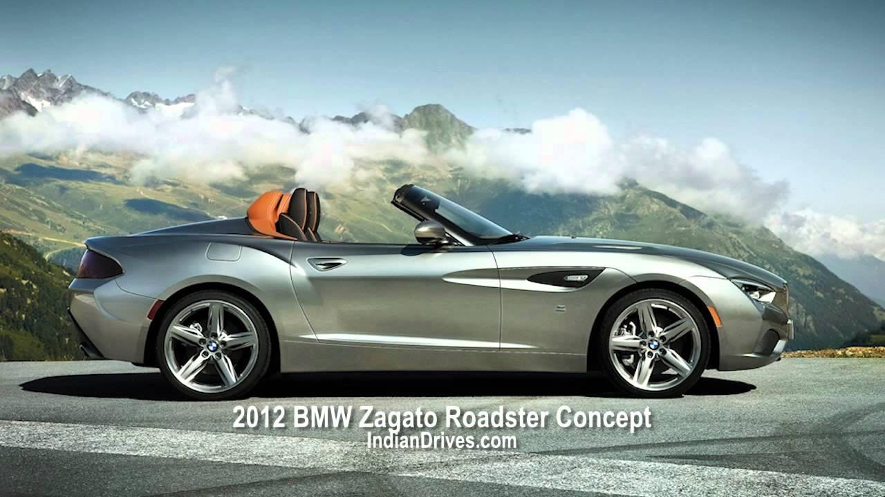 2012 BMW Zagato Roadster Concept at Pebble Beach - YouTube