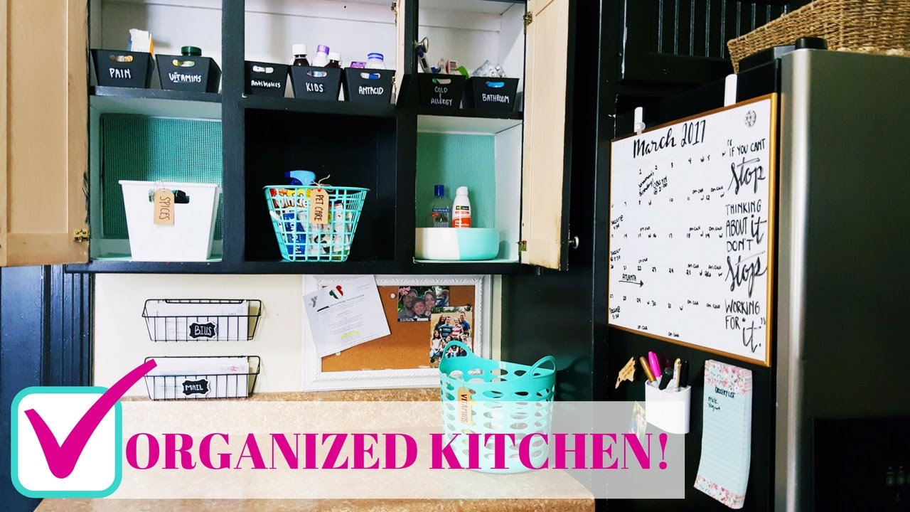 kitchen organization ideas budget diy kitchen organization on a budget family command 5436