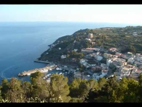 How to reach the island of USTICA - Sicily- Italy