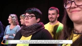 30ème Téléthon à Avallon (89) - Les coulisses du Marché couvert
