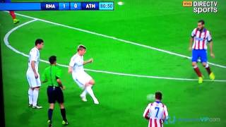 Primer Gol de James Rodriguez en el Real Madrid Vs Atletico de Madrid