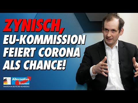 Zynisch, EU-Kommission feiert Corona als Chance