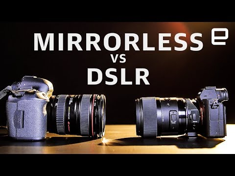 Why mirrorless cameras