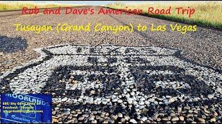Rob and Dave's American Road Trip - Tusayan (Grand Canyon) to Las Vegas 4k