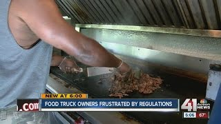 Food truck owners frustrated by regulations