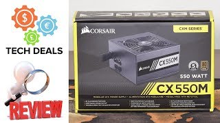 Corsair CX550M - $60 Modular 80+ Bronze Power Supply - Review