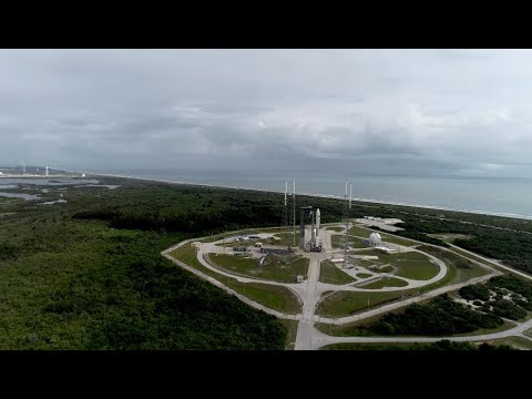 Aerial Views of Atlas V AFSPC-11