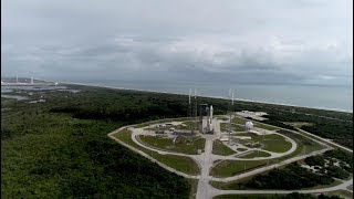 Aerial Views of Atlas V AFSPC-11