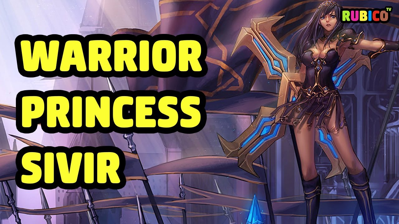 Warrior Princess Sivir Skin Spotlight