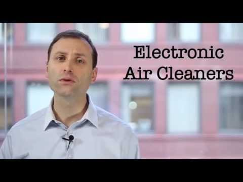 Electronic Air Cleaners via Indoor Air Quality Association