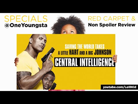 Central Intelligence Red Carpet & Movie Review | NERDSoul
