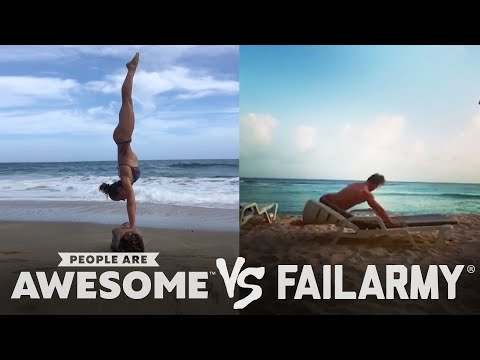 People Are Awesome vs. FailArmy | Golfing, Trickshots & More!