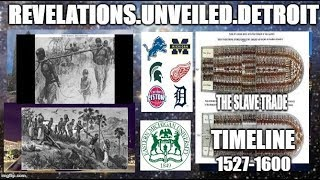 The SLAVE Trade Timeline-1527-1600.