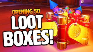 Overwatch - OPENING 50 LUNAR NEW YEAR 2020 LOOT BOXES!
