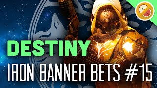 Destiny Iron Banner Bets #15 - The Dream Team (Year 2 Finale) Funny Gaming Moments
